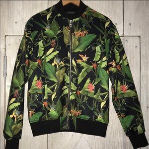ZARA Jungle Print Bomber Jacket for Men's